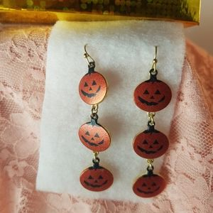 Jewelry - 🎃 2/$12 🎃 or 🎃 3/$15 🎃 Pumpkin Earrings New